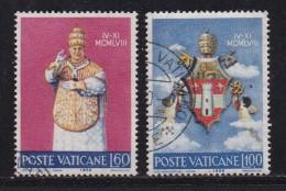 VATICAN, 1959, Mixed Stamp(s), Pope Johannes XXIII,  Mi 303=306, #4195,  2 Values Only - Vatican