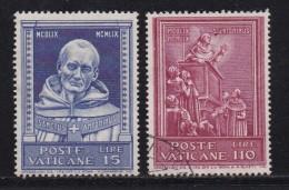 VATICAN, 1960, Mixed Stamp(s), Antoninus,  Mi 334=337, #4200,  2 Values Only - Vatican