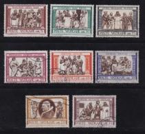 VATICAN, 1960, Mixed Stamp(s), Delia Robbia Paintings,  Mi 347-356, #4202,  Complete - Vatican