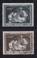 VATICAN, 1960, Mixed Stamp(s), Nativity,  Mi 357-358, #4203,  Complete - Vatican