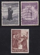 VATICAN, 1961, Mixed Stamp(s), St. Meinrad,  Mi 363-365, #4206,  Complete - Vatican