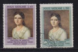 VATICAN, 1962, Mixed Stamp(s), Pauline Marie Jaricot,  Mi 405=407, #4232,  2 Values Only - Vatican
