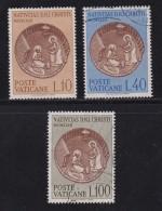 VATICAN, 1963, Mixed Stamp(s), Christmas,  Mi 439-441, #4254, Complete - Vatican