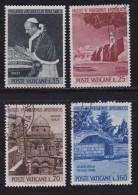 VATICAN, 1963, Mixed Stamp(s), Pope Paul VI,  Mi 442-445, #4255, Complete - Vatican