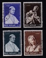 VATICAN, 1964, Mixed Stamp(s), Pope Paul VI,  Mi 450-453, #4260, Complete - Vatican