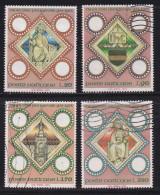 VATICAN, 1973, Mixed Stamp(s), Prague Diocese,  Mi 625-628, #4262, Complete - Vatican