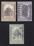 VATICAN, 1973, Mixed Stamp(s), Narses Shnorali,  Mi 629-631, #4262, Complete - Vatican