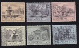 VATICAN, 1975, Mixed Stamp(s), Heritage Year,  Mi 657-662, #4279, Complete - Vatican