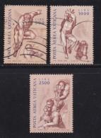 VATICAN, 1976, Mixed Stamp(s), Madonna And Child,  Mi 675-677, #4285, Complete - Vatican