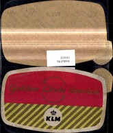 141652,Reklame Golden Gircle Service KLM - Werbepostkarten