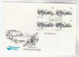 1982 FAROES SIGNED FDC Multi HVALVIK Stamps  FAROE ISLANDS Cover - Faroe Islands