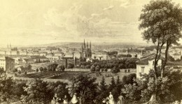 Allemagne Wiesbaden Vue Generale Ancienne CDV Photo 1860's - Fotos