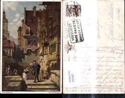 145587,Künstler Ak Carl Spitzweg Der Briefträger Postbote Post Pub Wohlgemuth & Lissn - Post & Briefboten