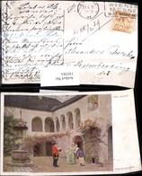 145581,Künstler Ak Carl Probst Frohe Botschaft Postbote Kurier Frauen Post Stempel Wi - Post & Briefboten