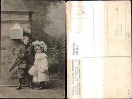 145583,Post Kinder B. Postkasten Briefkasten Post Schirm - Post & Briefboten