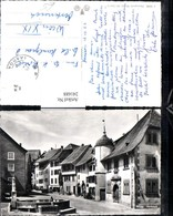 241688,Brugg Hofstatt Ansicht Brunnen Kt Aargau - AG Aargau