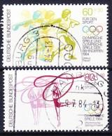 ALLEMAGNE - REP. FEDERALE 1984 YT N° 1038 Et 1039 Obl. - [7] República Federal