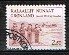 GROENLAND /Oblitérés/Used/1983 - 250 Ans Etablissement De La Station Nouvelle Herrnut - Groenlandia