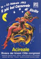 ACIREALE /  IL Carnevale _14- 23 Febbraio 1993 - Acireale