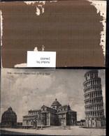 246495,Pisa Piazza Del Duomo Veduta Da Via San Maria Kirche Schiefer Turm U. Baptiste - Pisa