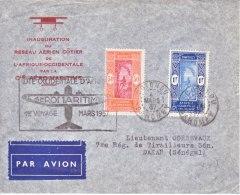 FRENCH  DAHOMEY  FIRST FLIGHT  COVER - Dahomey (1899-1944)
