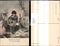 161452,Napoleon Au Bicouac La Veille D Austerlitz Uniform Bajonett - Geschichte