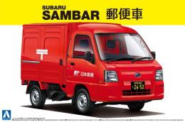 Subaru Sambar Japan Post 1/24 (  Aoshima ) - Cars