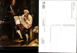 178254,Künstler Ak E. Ebers Der Brief The Letter Lesen Postwesen - Post & Briefboten