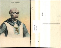 181252,Künstler Ak Gui De Dampierre Mann Ritter - Geschichte