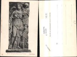 181420,Künstler Ak Carthage Relief Frau Engel Rüstung - Geschichte