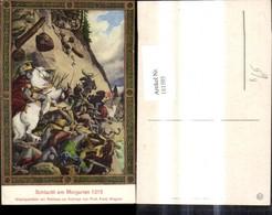 181505,Künstler Ak Prof. Ferd. Wagner Schlacht Am Morgarten 1315 - Geschichte