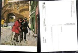 186801,Künstler Ak Wilhelm Roegge Neujahr Z. Großvaters Zeiten Post Postwesen Postkut - Post & Briefboten