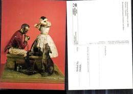 186806,Plastik Keramik V. C. Tausch Hannoverscher Postillion Um 1860 Postilion Post P - Post & Briefboten