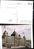 187336,Künstler Ak Hauptpostamt Frankfurt A. Main A. D. Zeil 1895 Post Postwesen - Post & Briefboten