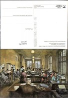 187155,Künstler Ak F. W. Kleukens Telegrammaufnahme I. Frankfurt A. Main 1950 Post Po - Post & Briefboten