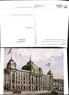 187356,Künstler Ak Hauptpostamt Frankfurt A. Main A. D. Zeil 1895 Post Postwesen - Post & Briefboten