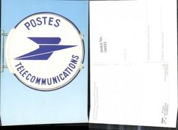 186822,Amtsschild Transparent PTT Frankreich Post Postwesen - Post & Briefboten