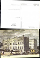 187489,Künstler Ak Postamt Königsberg Um 1849 Post Postwesen - Post & Briefboten