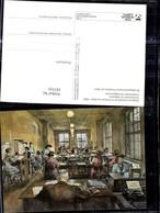 187535,Künstler Ak F. W. Kleukens Telegrammaufnahme I. Frankfurt A. Main 1950 Post Po - Post & Briefboten