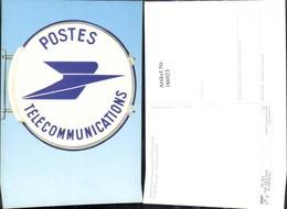 186923,Amtsschild Transparent PTT Frankreich Post Postwesen - Post & Briefboten