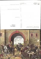 187039,Künstler Ak Römische Staatspost Post Postwesen Burg Festung - Post & Briefboten