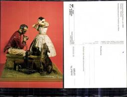 187009,Plastik Keramik V. C. Tausch Hannoverscher Postillion Um 1860 Postilion Post P - Post & Briefboten