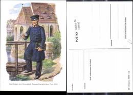 188842,Künstler Ak Gustav Müller Dresden Briefträger D. Herzoglichen Braunschweigsche - Post & Briefboten