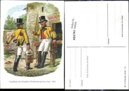 188896,Künstler Ak Gustav Müller Dresden Postillione D. Königl. Württembergschen Post - Post & Briefboten