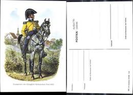 188846,Künstler Ak Gustav Müller Postmeister D. Königlich Sächsichen Post 1825 Reiter - Post & Briefboten