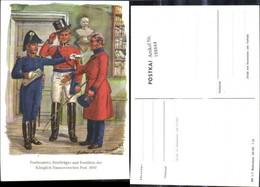188844,Künstler Ak Gustav Müller Postbeamter Briefträger U. Postillion D. Königl. Han - Post & Briefboten