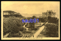 Lot De 4 CPA - Morgat - Parc Du Grand Hôtel De La Mer - La Plage  - Réf: 33898 - 33899-33900 - Morgat