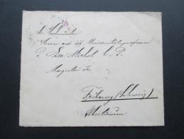 Österreich 1905 Nr. 112 EF Wien (violetter Stempel) Nach Fribourg (Schweiz) An Universitätsprofessor P. Leo Michel - 1850-1918 Imperium
