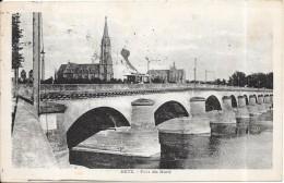 ALBI - 81 -  Le Pont Vieux Et Le Lycée  - ENCH0616 - - Albi