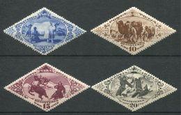 167 TOUVA 1934 - Yvert 43/46 - Yack Chameau Cerf Renard - Neuf ** (MNH) Sans Trace De Charniere - Tuva